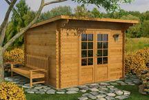 casette di legno da giardino