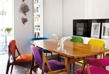 Mid Century Dining / Mid century dining room & furniture inspirations