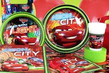 Cars Neon Parti Seti