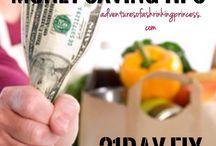 Clean eating on a budget / Money saving tips  http://www.adventuresofashrinkingprincess.com/blog/money-saving-tips-for-the-21-day-fix/