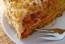 сладкие пироги, торты
