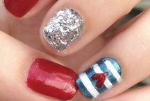 Nails / Fourth or July nails