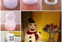 Julestæsh / Tips til julepynt og julehemmligheter i barnehage