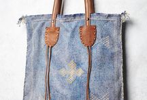 Bags: Leather and material