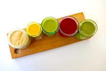 Dressings and marinades / Colourful dressings and beautiful marinades