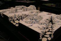 Battle board ideas for Frostgrave