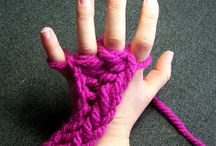 finger knitting for children