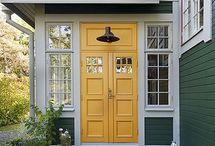 Parytterdörrar / Bilder att inspireras av när vi rustar vår stuga!