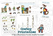 Cowboy Theme / by Homeschool Creations