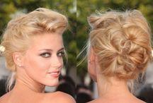 Hair/Fryzury / Pomysły na koki i kształtne cięcia włosów oraz how-to-do-it
