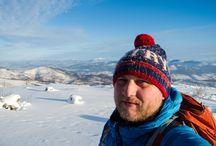 Selfies in mountains / Selfies w górach
