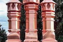 Copper Chimney Pots / Copper Chimney Pots