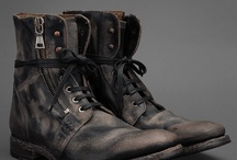 Mens military boots
