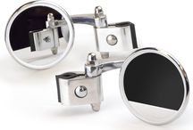 Stadium Legshield Mirrors For Vespa & Lambretta Scooters / Stadium Legshield clamp-on convex mirrors, for vespa and lambretta scooter entusiasts