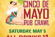 Cinco De Mayo Pub Crawl / by Pubcrawls. com