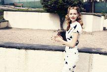 vintage fashion / by Laura Bonnoitt