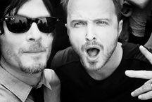 Aaron Paul & Norman Reedus