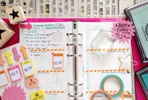 Filofax and daytimer ideas / Organizing my life! / by Nicole M