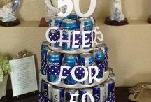 50th birthday ideas / Phils 50th party