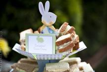 Hoppy Birthday - A bunny party / A bunny party for Esmés second birthday