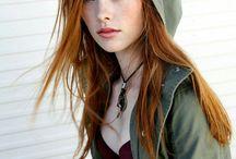 Posing Redheads