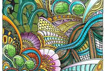 Zentangle Paterns and Idea's