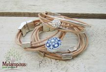 Handmade jewellery by melampous greek products / Buy unique bracelet jewllery greek handmade by melampous greek products