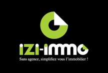 Communication Izi-Immo (Création Caconcept) / http://www.caconcept.fr/communication-visuelle-montpellier/creation-graphisme-publicite-internet-creations-izi-immo.html