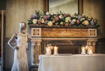 MANTLEPIECES / Mantlepiece floral inspiration. This board is a mixture of our designs and other floral designers.