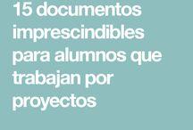 ABP APRENDIZAJE BASADO EN PROYECTOS / Material relacionado con el aprendizaje basado en proyectos