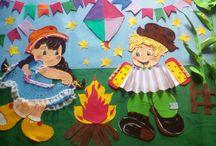 mural junino