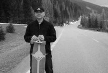 Orava 20,04,2014 / longboard zjazd huty ,oravice