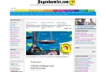 Rund um Jugendaemter.com / Bildsammlung sämtlicher Grafiken und Bildern auf Jugendaemter.com. Sammlung von Jugendämtern des Monats.