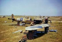 Foto WW II aircraft Africa spojenci