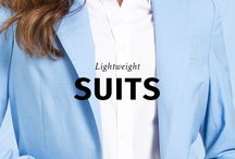 Lightweight Suits /  Did someone say SPRING?  New LIGHTWEIGHT SUITS available on Sumissura.com - Essential for your Spring & Summer wardrobe!