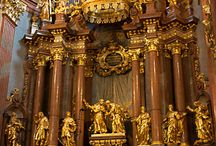 Melk Abbey Golden Shrine.