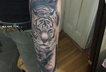tatto / tiger tatto