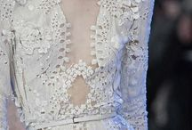 Lace and embroidery
