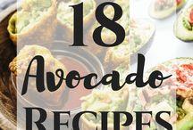 Awesome Avocado Recipes and Ideas / All kinds of avocados -- avocado toast -- avocado salads -- avocado dips -- guacamole -- healthy avocado recipes -- vegetarian avocado recipes -- avocado hacks