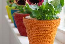 madereras en crochet