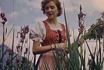 Het bloemenmeisje Eva / Over Eva Braun.