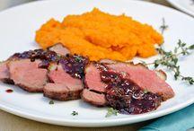 Meaty Main Dishes / by Rachel Reynolds
