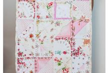 Vintage Hankie Quilts & Linens / by Kimberly Soelberg