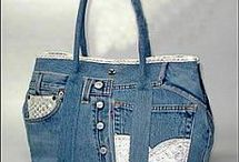 Recycle Denim Bags