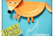 Roald Dahl week / Ideeën die je kunt uitvoeren tijdens de Roald Dahl week.
