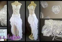 Wedding Dresses & Wedding retinue / Remember, some of the dress in the pictures below, may not seem like wedding dresses, but we cater for all tastes and styles. I even designed a wedding dress for a bride who was married on an elephant. - See more at: http://www.passion4fashion.co.za/wedding-dresses.html#sthash.BDabXs8x.dpuf
