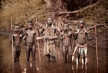 Peoples of Ethiopia / Mursi, Dassanech, Banna, Karo, Hammar & Arbore. The Omo Valley, situated in Africa's Great Rift Valley, is home to an estimated 200,000 tribal people who have lived there for millennia. The tribes have always traded between each other, for beads, food, cattle and cloth. More recently, the trade has been in guns and bullets. The tribes live a 'simple' life of hunting, gathering, raising cattle and growing sorghum along the banks of the River Omo.