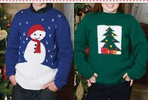 KNITTED CHRISTMAS PULLOVERS
