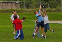 Baseball Memories / Documenting memories of playing baseball: Sandlot baseball, baseball for fun, kids playing baseball, family baseball games, neighborhood baseball games.