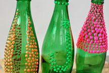 Soda Şişesini Şık Bir Vazoya Dönüştürün! / Soda Şişesini Şık Bir Vazoya Dönüştürün!  http://www.dekordiyon.com/soda-sisesini-sik-bir-vazoya-donusturun/  #SodaŞişesiDeğerlendirme